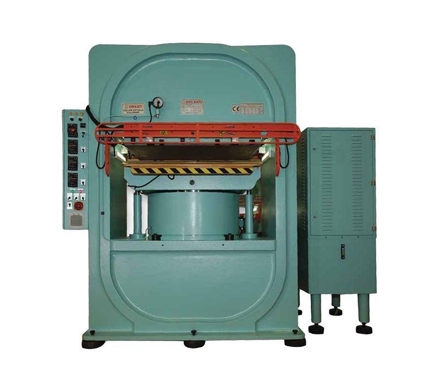 KM 800L Deri Press Makinası